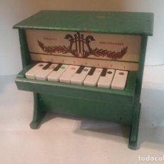 Jouets Anciens: ANTIGUO PIANO MUSICAL DE JUGUETE FABRICADO POR JUGUETES DEL MEDITERRANEO.. Lote 241088195