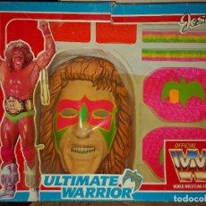 Brinquedos antigos: JOSMAN- DISFRAZ ÚLTIMO GUERRERO ULTIMATE WARRIOR- WWF. Lote 242837355