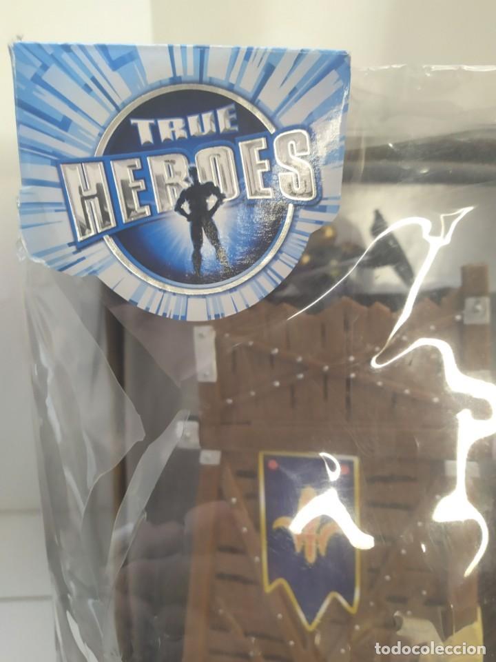 Juguetes antiguos: TORRE DE ASALTO,TORRE DE DEFENSA MEDIEVAL TRUE HEROES-ARTICULO NUEVO-PAPO,SCHLEICH- - Foto 9 - 243199400