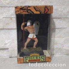 Juguetes antiguos: FIGURAS HISTORICAS GUERRERO EGIPCIO CON LANZA Y ESCUDO DE JUGUETES PUCHOL. Lote 244946295
