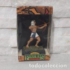Juguetes antiguos: FIGURAS HISTORICAS GUERRERO EGIPCIO CON ARCO DE JUGUETES PUCHOL. Lote 244946575