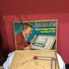 Juguetes antiguos: TECNIGRAFO INFANTIL TR-22. AÑOS 60. Lote 245120110