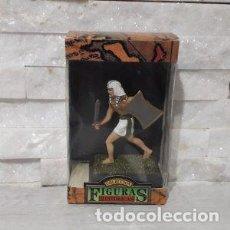Juguetes antiguos: FIGURAS HISTORICAS GUERRERO EGIPCIO CON ESPADA CORTA Y ESCUDO DE JUGUETES PUCHOL. Lote 245350110