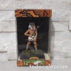 Juguetes antiguos: FIGURAS HISTORICAS GUERRERO EGIPCIO CON ARCO DE JUGUETES PUCHOL. Lote 245350180
