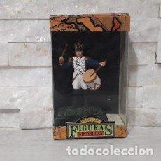 Juguetes antiguos: FIGURAS HISTORICAS SOLDADO CON TAMBOR DE JUGUETES PUCHOL. Lote 245350250
