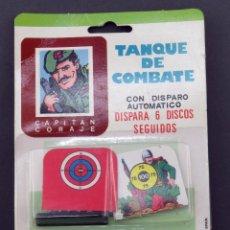 Juguetes antiguos: TANQUE DE COMBATE MANUFACTURAS ARPLAST REF 128 NUEVO SIN ABRIR. Lote 245422470