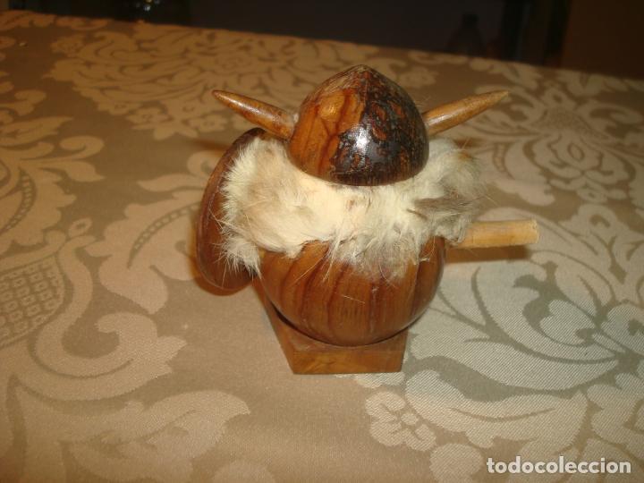 Juguetes antiguos: vikingo goula 8 cm leer - Foto 2 - 245471800