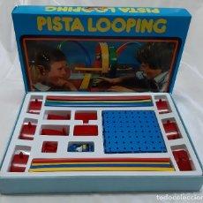 Juguetes antiguos: PISTA LOOPING CON COCHE METEORO (MARCA PILEN. AÑOS 80). Lote 245501385