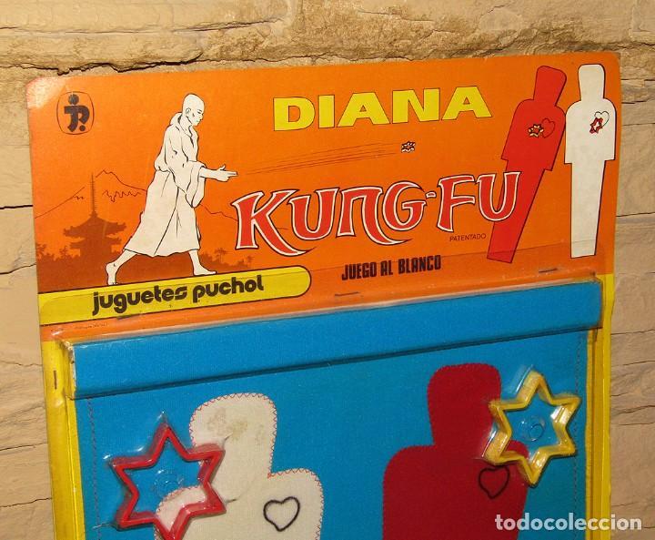 Juguetes antiguos: ANTIGUA DIANA KUNG FU - JUGUETES PUCHOL - AÑOS 70 - NUEVA A ESTRENAR - EN SU BLISTER - MADE IN SPAIN - Foto 2 - 245509735