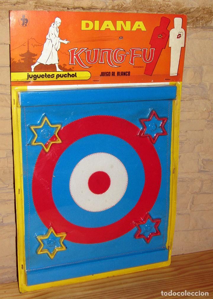 ANTIGUA DIANA KUNG FU - JUGUETES PUCHOL - AÑOS 70 - NUEVA A ESTRENAR - EN SU BLISTER - MADE IN SPAIN (Juguetes - Marcas Clasicas - Otras Marcas)