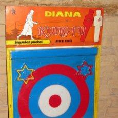 Juguetes antiguos: ANTIGUA DIANA KUNG FU - JUGUETES PUCHOL - AÑOS 70 - NUEVA A ESTRENAR - EN SU BLISTER - MADE IN SPAIN. Lote 245509740