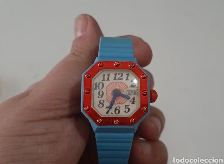 Juguetes antiguos: Lote reloj de juguete años 80 - Foto 3 - 246107225