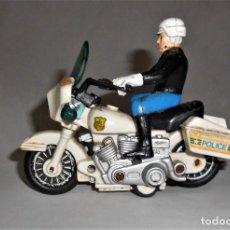 Juguetes antiguos: MOTO HARLEY DAVIDSON POLICIA. Lote 246226285