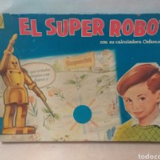 Juguetes antiguos: SUPER ROBOT ANTIGUO JUEGO. Lote 246271385