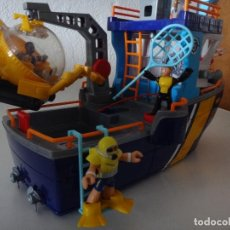 Juguetes antiguos: FISHER-PRICE BARCO OCEANOGRAFICO. Lote 246431915