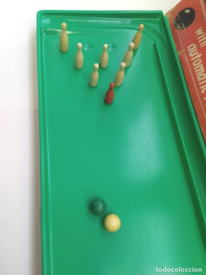 Juguetes antiguos: JUGUETE BOLERA TEN PIN PERMA-BOWLING ALLEY-JUGUETE ANTIGUO- - Foto 7 - 246729370