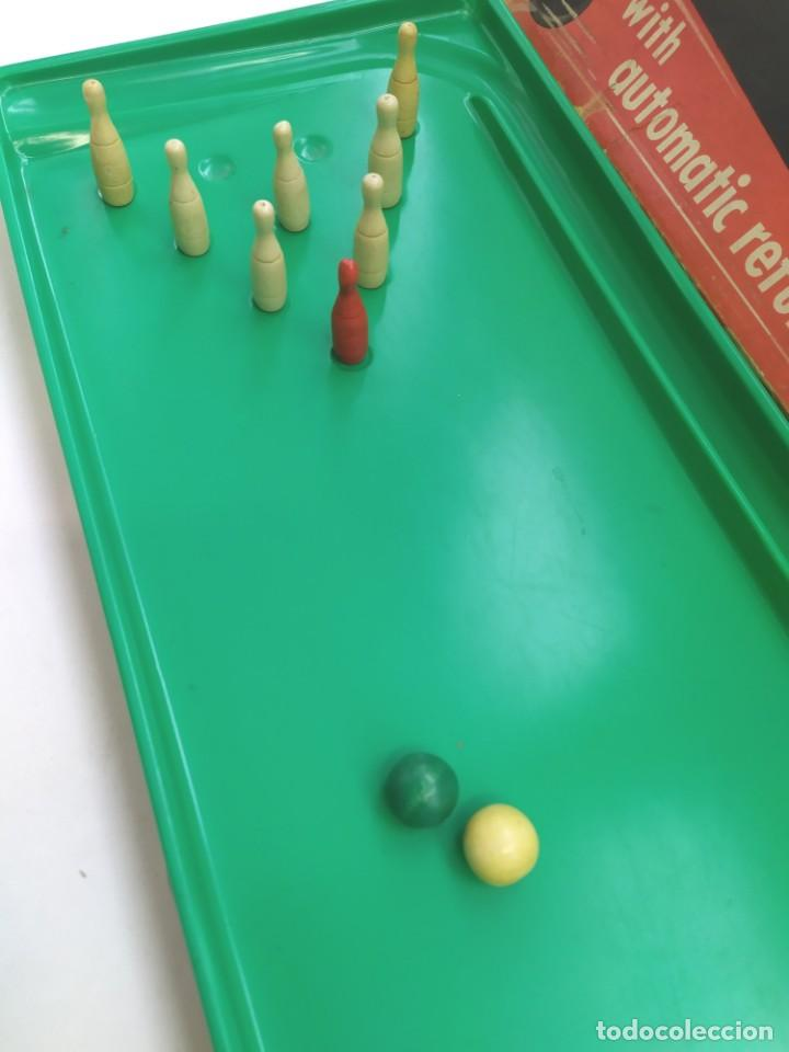 Juguetes antiguos: JUGUETE BOLERA TEN PIN PERMA-BOWLING ALLEY-JUGUETE ANTIGUO- - Foto 9 - 246729370