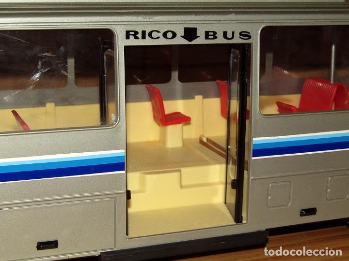Juguetes antiguos: ANTIGUO AUTOBUS RICO BUS - NUEVO A ESTRENAR - EN SU CAJA ORIGINAL - IMPECABLE - FUNCIONANDO - REF 43 - Foto 13 - 248657395