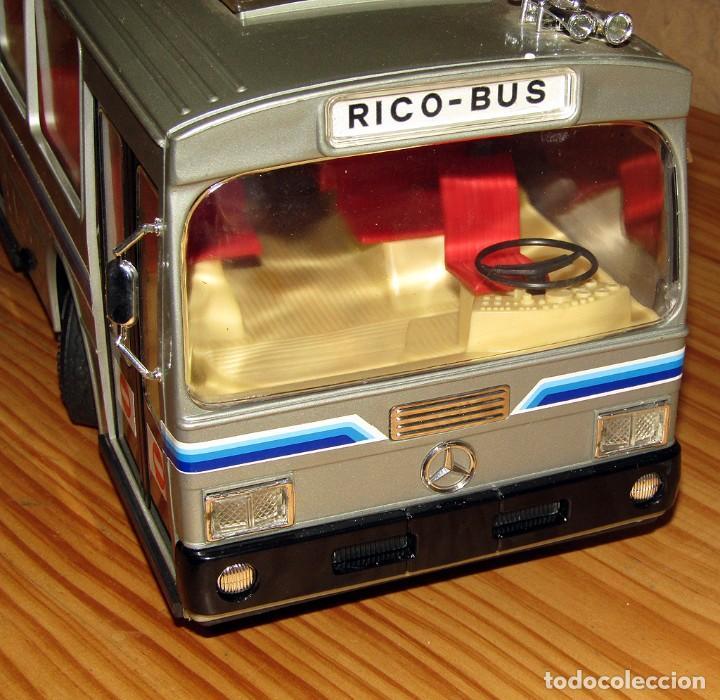 Juguetes antiguos: ANTIGUO AUTOBUS RICO BUS - NUEVO A ESTRENAR - EN SU CAJA ORIGINAL - IMPECABLE - FUNCIONANDO - REF 43 - Foto 18 - 248657395