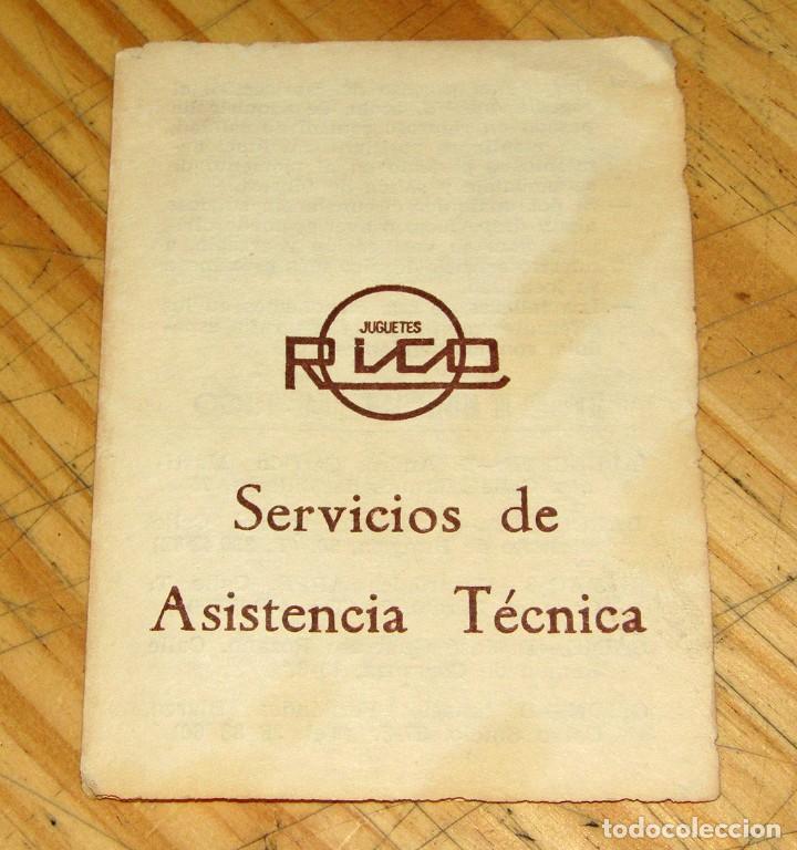Juguetes antiguos: ANTIGUO AUTOBUS RICO BUS - NUEVO A ESTRENAR - EN SU CAJA ORIGINAL - IMPECABLE - FUNCIONANDO - REF 43 - Foto 33 - 248657395