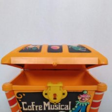 Juguetes antiguos: COFRE MUSICAL MARCA GEYPER MADE IN SPAIN. Lote 248812315