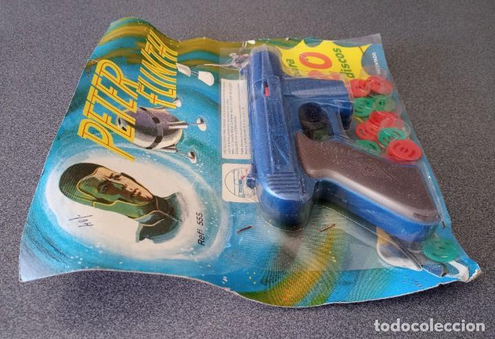 Juguetes antiguos: Pistola Espacial Peter Flinth Molto - Foto 3 - 249465680