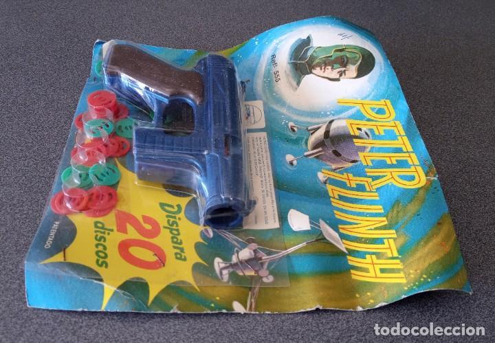 Juguetes antiguos: Pistola Espacial Peter Flinth Molto - Foto 4 - 249465680
