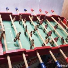 Juguetes antiguos: FUTBOLIN DENIA CASA AMBAR PRIMEROS MODELOS MUY DIFÍCIL. Lote 254189195