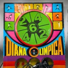 Juguetes antiguos: DIANA OLIMPICA TIRO DEPORTIVO DE LEMSSA. CON REVOLVER PISTOLA. AÑOS 60. Lote 254578455
