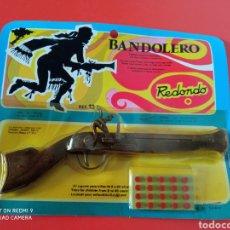 Giocattoli antichi: TRABUCO BANDOLERO (18 CM). MINIATURAS METÁLICAS REDONDO 70S.SIN ABRIR.. Lote 254591435