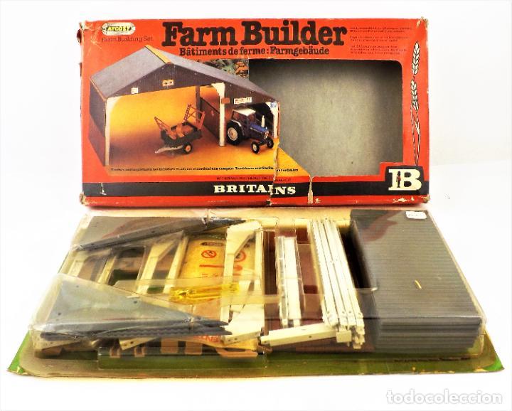 BRITAINS 4708 FARM BUILDER CCA 1970 (Juguetes - Marcas Clasicas - Otras Marcas)