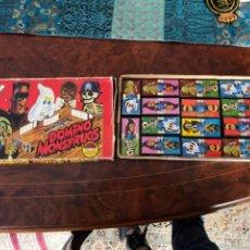 Juguetes antiguos: DOMINO MONSTRUOS AIRGAM COMPLETO DE LA CASA DE LOS AIRGAM BOYS. Lote 255550295
