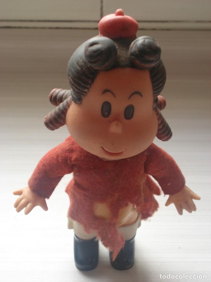 Juguetes antiguos: Muñeca Original Little Lulu La Pequeña Lulú Western P. Mecánica Ibense 1984 - Foto 3 - 263188555