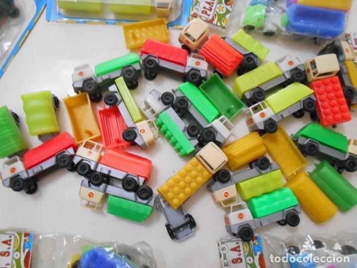 Juguetes antiguos: juguetes camiones blister etc años 6-70 - Foto 2 - 263192115