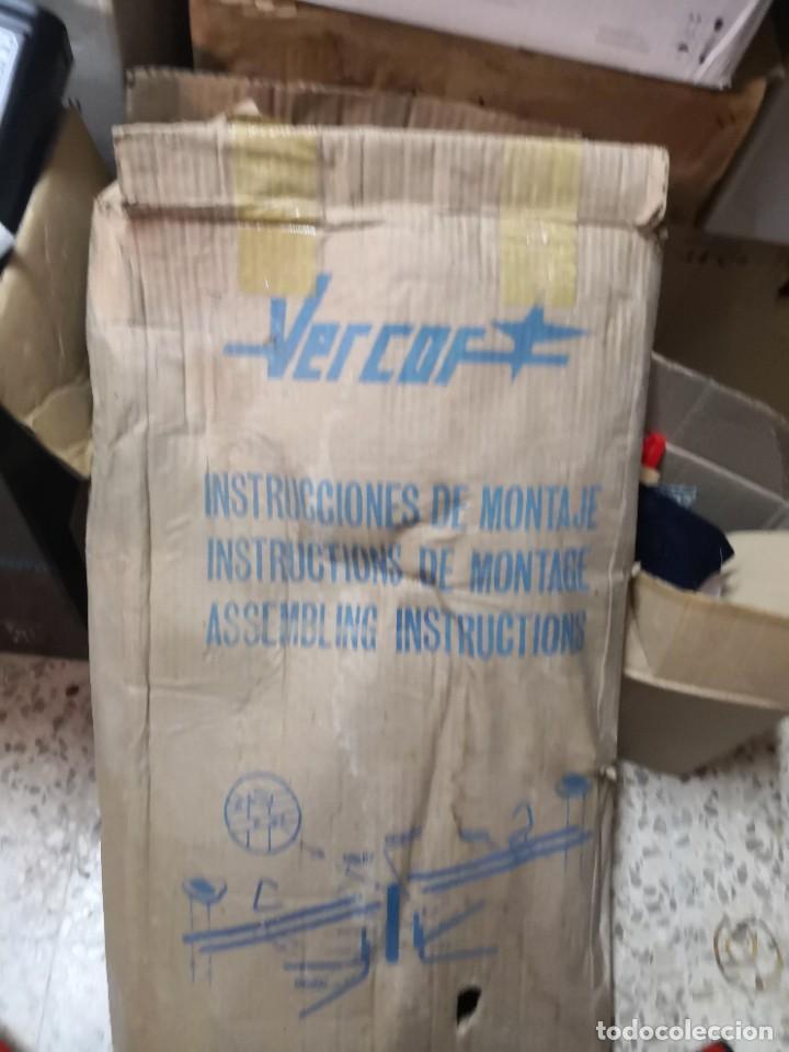 Juguetes antiguos: Antiguo juguete marca española VERCOR REFERENCIA: 302 COLUMPIO METAL.. SIN USO CONSERVA SU CAJA - Foto 4 - 265859654