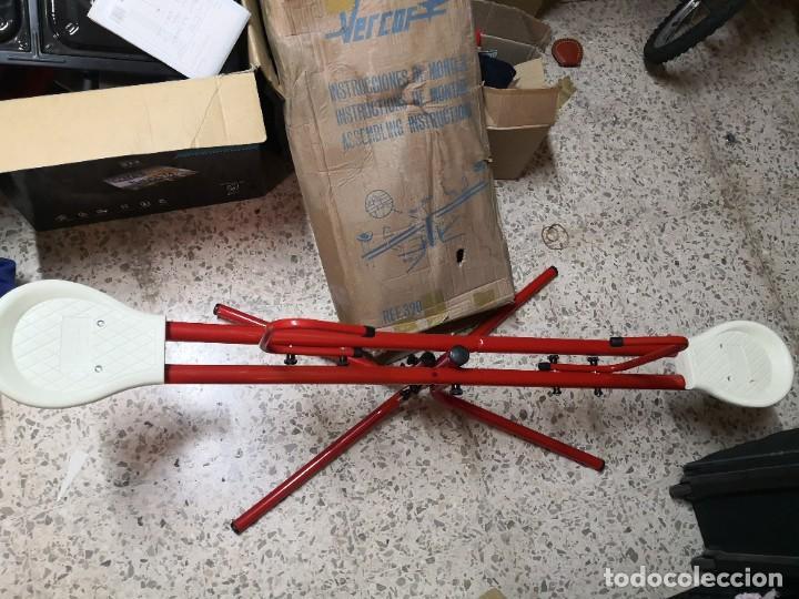 Juguetes antiguos: Antiguo juguete marca española VERCOR REFERENCIA: 302 COLUMPIO METAL.. SIN USO CONSERVA SU CAJA - Foto 5 - 265859654