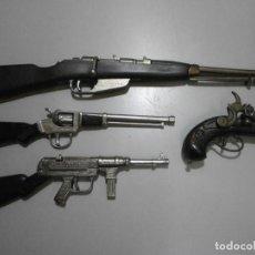 Juguetes antiguos: ARMAS PISTOLAS DE PISTONES FULMINANTES REDONDO BUEN ESTADO. Lote 265961298