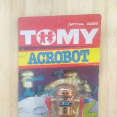 Juguetes antiguos: ROBOT CUERDA - TOMY ACROBOT - 1979 - MADE IN TAIWAN - BLISTER ORIGINAL SIN ABRIR. Lote 266216138