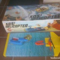 Juguetes antiguos: JUEGO HELICOPTERO SOS - MARCA CONGOST - AÑOS 70S - EN CAJA. Lote 268999514