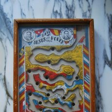 Juguetes antiguos: ANTIGUO JUEGO DE HABILIDAD RAID JESÚS DEL GRAN PODER 1927,FABRICADO EN DENIA EN LA FABRICA J.MONLLOR. Lote 270694923