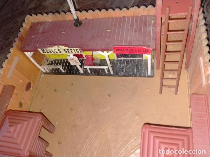 Juguetes antiguos: FUERTE COMANSI FORT GRANT EL ORIGINAL DE MADERA - Foto 2 - 271619853