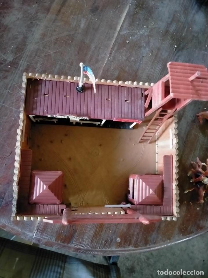 Juguetes antiguos: FUERTE COMANSI FORT GRANT EL ORIGINAL DE MADERA - Foto 3 - 271619853