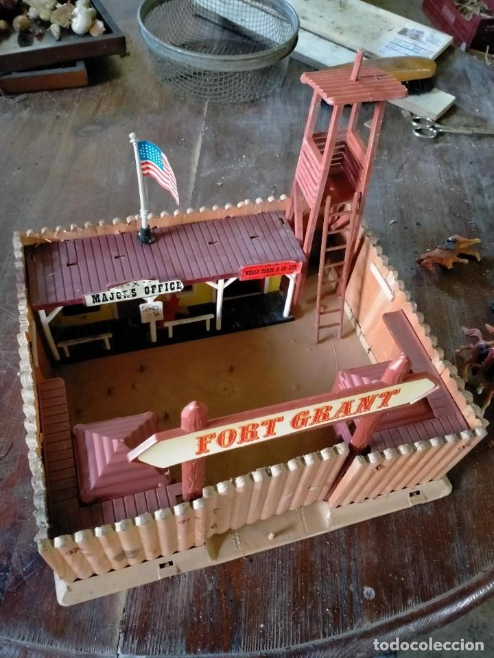 Juguetes antiguos: FUERTE COMANSI FORT GRANT EL ORIGINAL DE MADERA - Foto 6 - 271619853