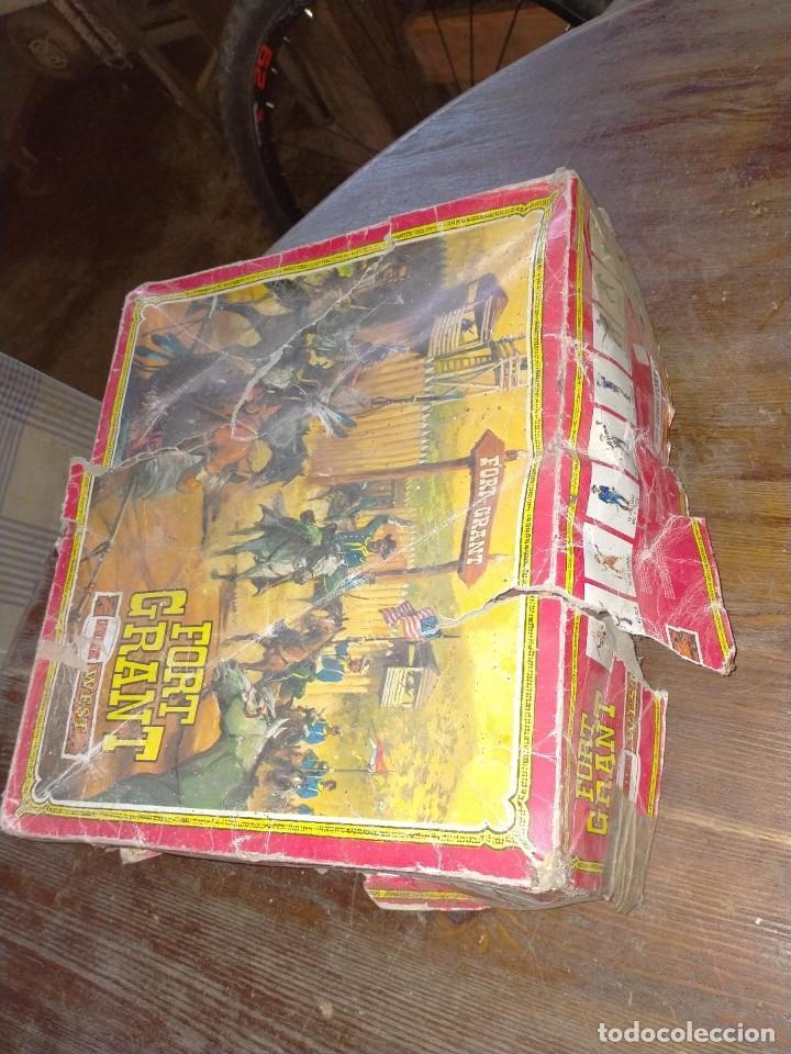 Juguetes antiguos: FUERTE COMANSI FORT GRANT EL ORIGINAL DE MADERA - Foto 12 - 271619853