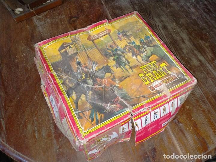 Juguetes antiguos: FUERTE COMANSI FORT GRANT EL ORIGINAL DE MADERA - Foto 13 - 271619853