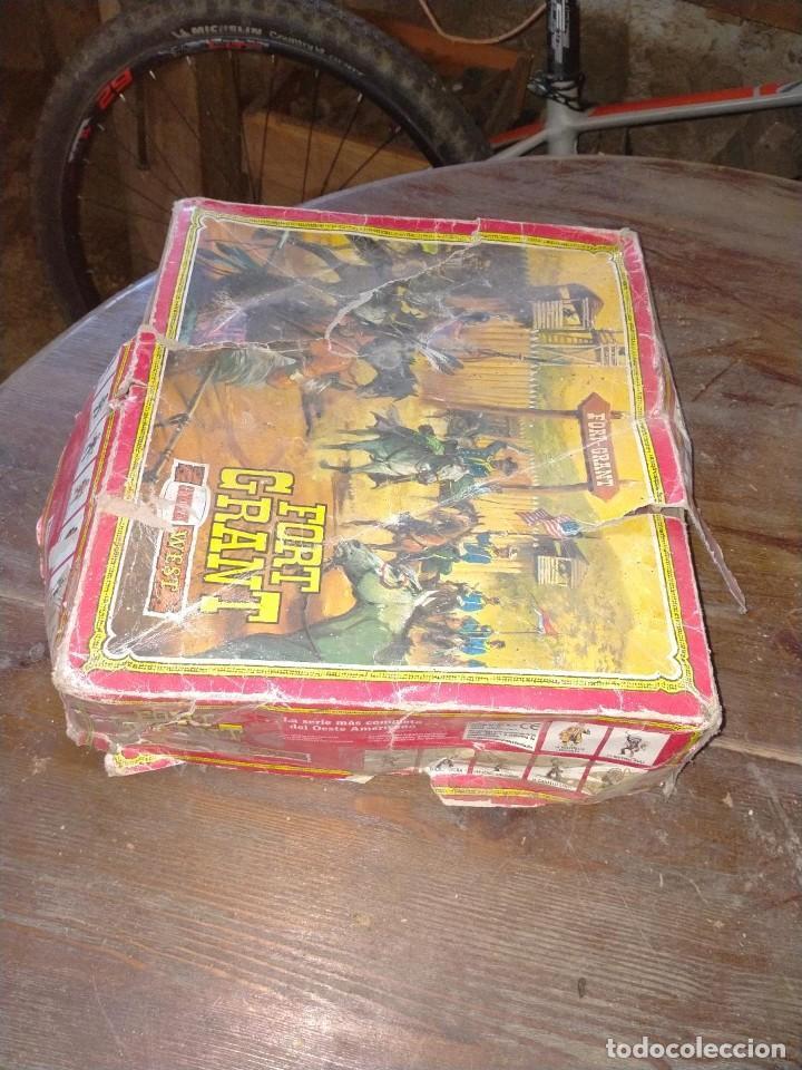 Juguetes antiguos: FUERTE COMANSI FORT GRANT EL ORIGINAL DE MADERA - Foto 15 - 271619853