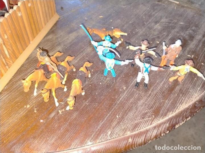 Juguetes antiguos: FUERTE COMANSI FORT GRANT EL ORIGINAL DE MADERA - Foto 17 - 271619853