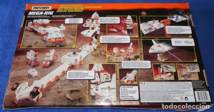 Juguetes antiguos: Mega-Rig - Base Espacial con motor - Laboratorio Orbital - Matchbox - Mattel (1998) - Foto 2 - 271660543