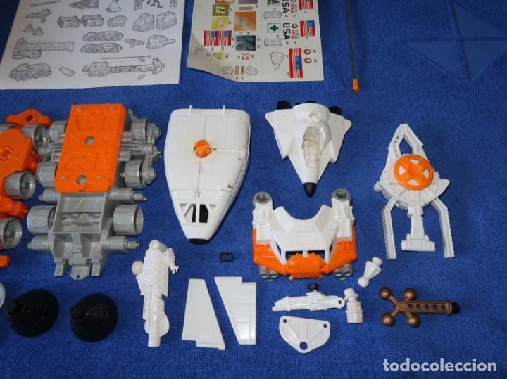Juguetes antiguos: Mega-Rig - Base Espacial con motor - Laboratorio Orbital - Matchbox - Mattel (1998) - Foto 7 - 271660543
