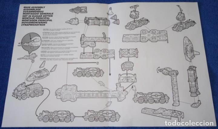 Juguetes antiguos: Mega-Rig - Base Espacial con motor - Laboratorio Orbital - Matchbox - Mattel (1998) - Foto 9 - 271660543